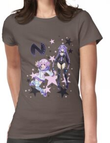 Planetune's Goddess Neptune Womens Fitted T-Shirt