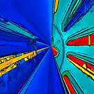 Machine Parts Abstract by Joy  Rector