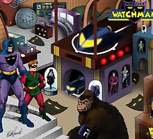 The Knight Watchman Watchtower by Keith Howell by bigbangcomics