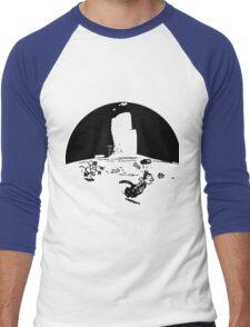Krazy Kat Pulp Fiction Men's Baseball ¾ T-Shirt