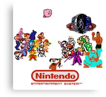 NES Classic Canvas Print