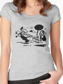 Pulp Fiction Tshirt Women's Fitted Scoop T-Shirt