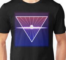 Grid Sunset Unisex T-Shirt
