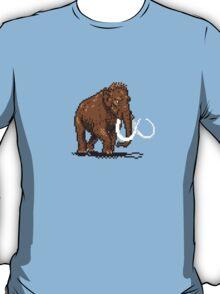 Prehistoric Pixels - Mammoth T-Shirt