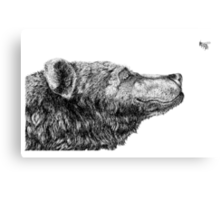 Bear Necessities by Inkspot  Canvas Print