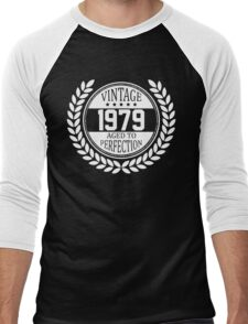 Vintage 1979 Aged To Perfection Men's Baseball ¾ T-Shirt