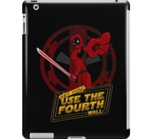 Use The Fourth Wall iPad Case/Skin