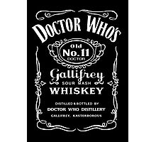 Jack Daniel's Doctor Who Photographic Print