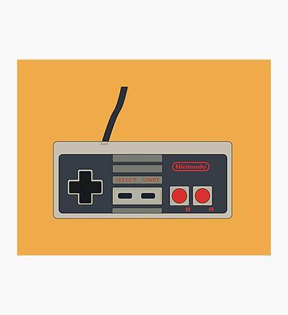 NES Controller  Photographic Print