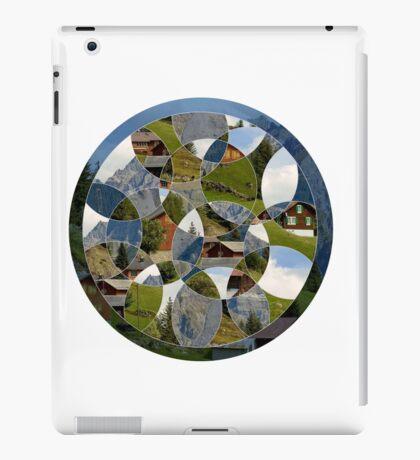 Abstract Geometric Landscape iPad Case/Skin