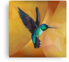 Poly Humming Bird Canvas Print
