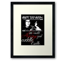 Shot Too Soon Framed Print