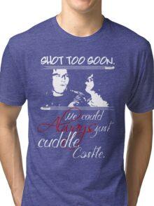 Shot Too Soon Tri-blend T-Shirt