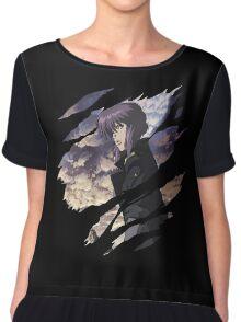 Motoko Kusanagi Anime Manga Shirt Chiffon Top