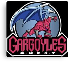 Gargoyle's Quest the TV Series Canvas Print