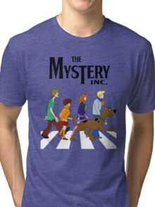 Scooby Doo Abbey Road Tri-blend T-Shirt