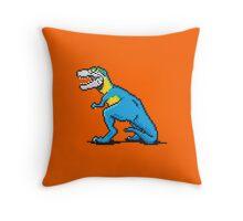 Pixevolution - Tyrannosaurus Macaw  Throw Pillow