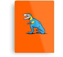 Pixevolution - Tyrannosaurus Macaw  Metal Print
