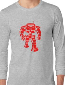 Manbot - Red Long Sleeve T-Shirt