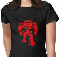 Manbot - Red Womens Fitted T-Shirt