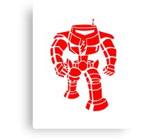 Manbot - Red Canvas Print