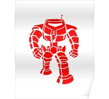 Manbot - Red Poster
