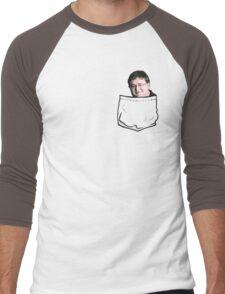 Pocket Gaben Men's Baseball ¾ T-Shirt