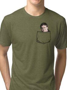 Pocket Gaben Tri-blend T-Shirt