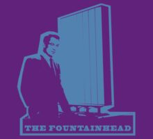 The Fountainhead Blue by pohcsneb