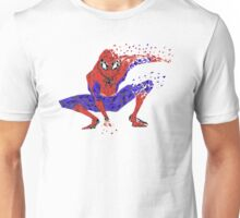 Classic Spiderman Pose - Triangles Unisex T-Shirt