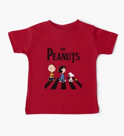 Peanuts Abbey Road Baby Tee