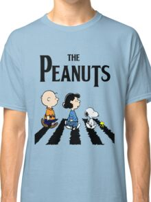 Peanuts Abbey Road Classic T-Shirt
