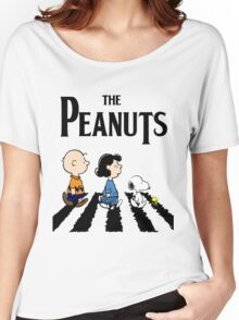 Peanuts Abbey Road Women's Relaxed Fit T-Shirt