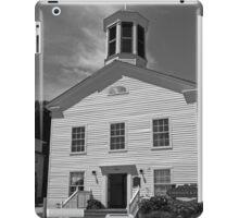 Mackinac Island Police Station BW iPad Case/Skin