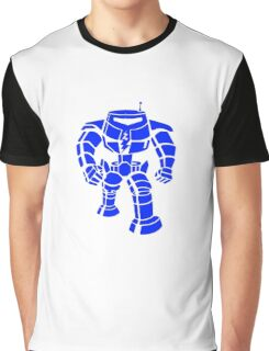 Manbot - Blue Variant Graphic T-Shirt