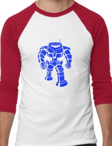 Manbot - Blue Variant Men's Baseball ¾ T-Shirt
