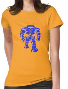Manbot - Blue Variant Womens Fitted T-Shirt