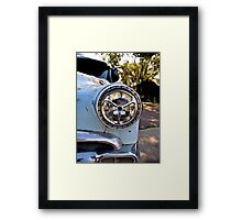 Blue Dot Framed Print