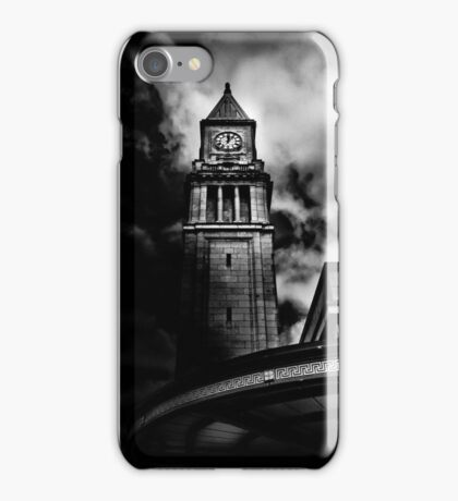 Clock Tower No 10 Scrivener Square Toronto Canada iPhone Case/Skin