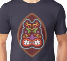 Angry fire tiki Unisex T-Shirt