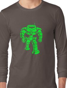 Manbot - Super Lime Variant Long Sleeve T-Shirt