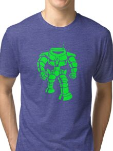 Manbot - Super Lime Variant Tri-blend T-Shirt