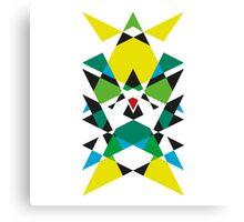 Geometric Dark Landscape 7 Canvas Print