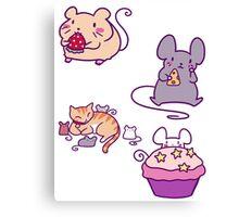 Cute Mice! Canvas Print