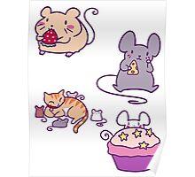 Cute Mice! Poster