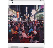 Time Square at night iPad Case/Skin