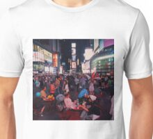 Time Square at night Unisex T-Shirt