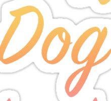 Crazy Dog Lady Sticker