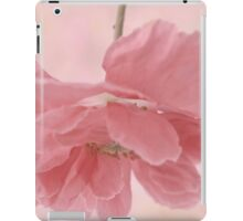 Pretty Pink Poppy Macro iPad Case/Skin