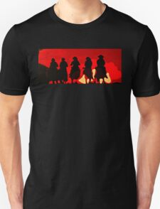 Riding out of the Sunset Unisex T-Shirt